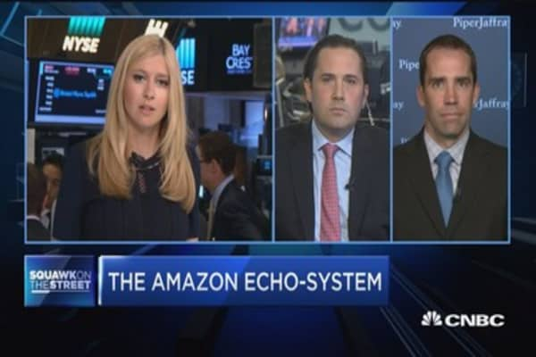 Cowen's John Blackledge: Amazon Echo in 12 percent of households