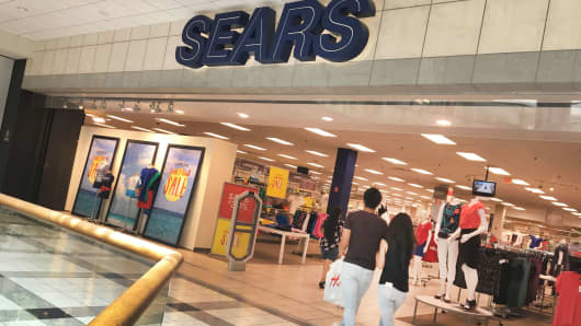 A Sears store in White Plains, New York.