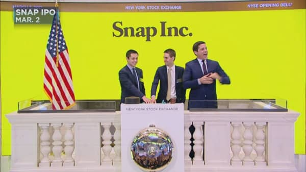 Snapchat shares downgraded by Morgan Stanley, a rare rebuke by a firm that helped bring it public