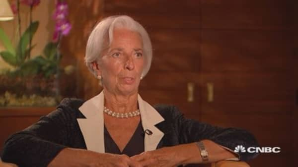 EU project clearly alive and kicking as Brexit inspires non-EU members to join, says Lagarde
