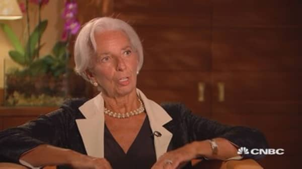 IMF's Lagarde: How countries in Europe are anchored by the EU