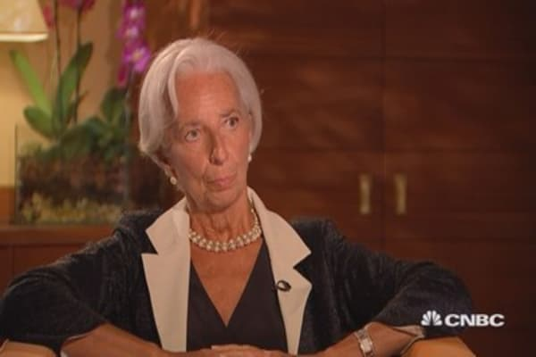 A financial crisis never comes from where we expect it: IMF's Lagarde