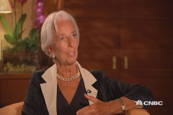 Monetary policy-wise, every region is in a different place at present: Lagarde