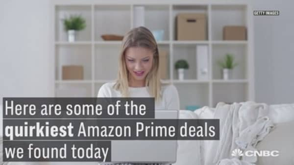 Here are some of the quirkiest Amazon Prime deals