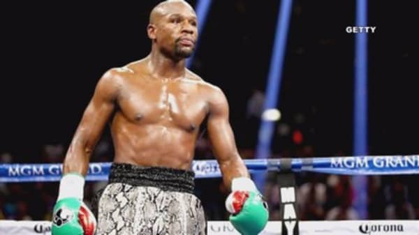 'Money' Mayweather wants McGregor fight to pay off tax bill