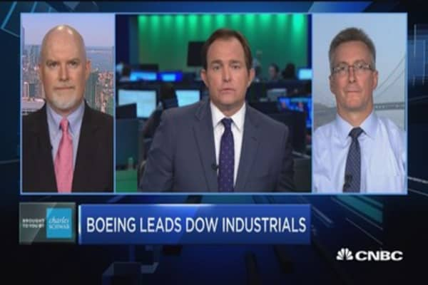 Trading Nation: How to trade the Dow's biggest winner in 2017