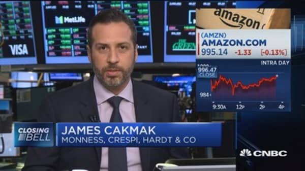Monness Crespi's James Cakmak: Amazon is a danger to brand names and marketing