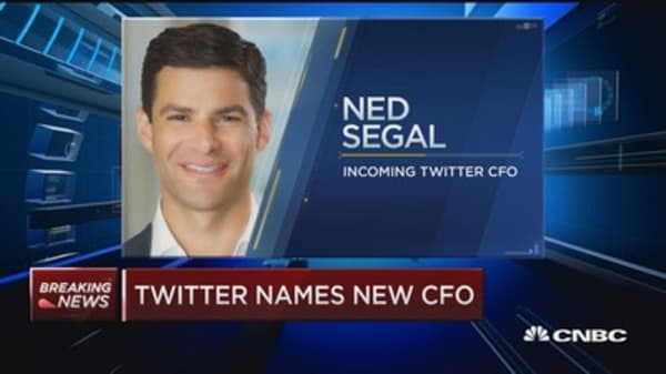 Neg Segal to become Twitter CFO in August