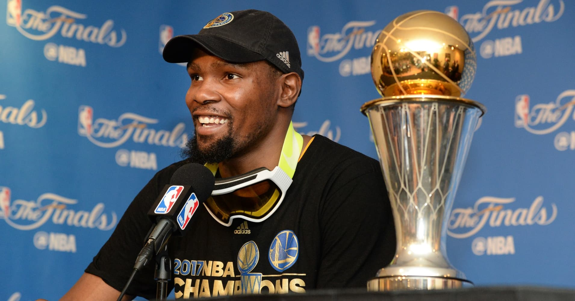 Why Kevin Durant Took A 10 Million Pay Cut To Play For The Warriors