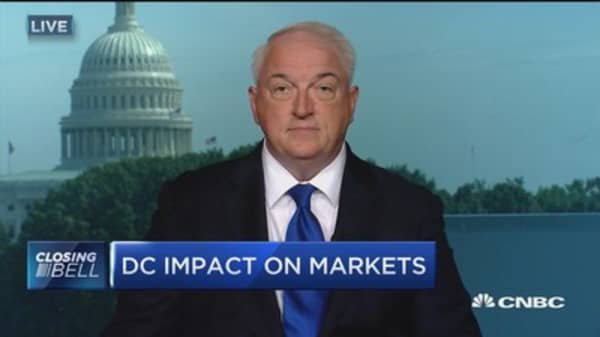 Market acted appropriately to Trump Jr.'s emails and recess delay: Evercore's Terry Haines