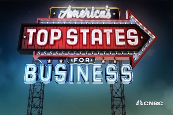 Washington is CNBC's Top State for Business