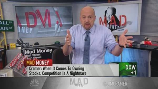 Cramer tracks the destructive force threatening stocks like Blue Apron and Ulta