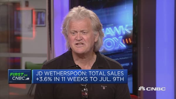 A lot of economists embarassed about Brexit: JD Wetherspoon chairman