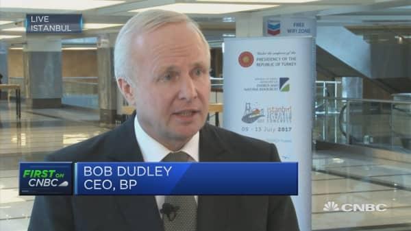 BP CEO on oil price outlook, break-evens