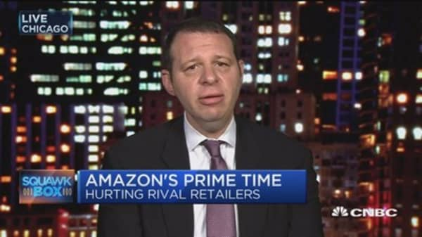 Amazon shifting shopping trend as retailers 'panic': UBS' Michael Lasser