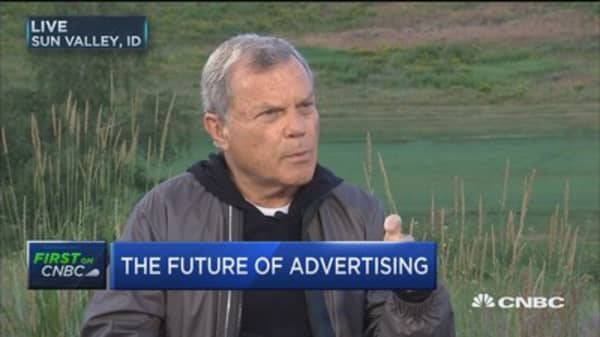 Sir Martin Sorrell: Generally seeing slow growth worldwide