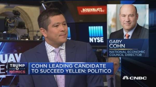 Gary Cohn would be 'fabulous' as Fed chair: Jim Cramer