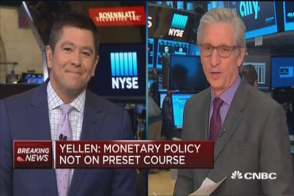 Great start to market thanks to Yellen: CNBC's Bob Pisani