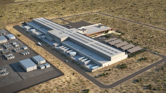 Facebook's planned Los Lunas data center in New Mexico will create thousands of construction jobs. Over time the company's investment could reach as high as $1 billion.