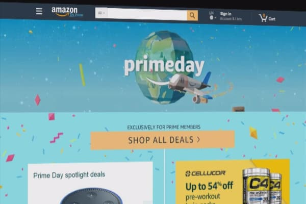 Amazon Prime Day breaks record; sales grew by more than 60 percent