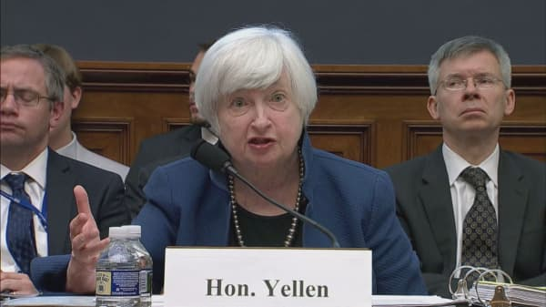 Yellen's surprise comments jolt bond market