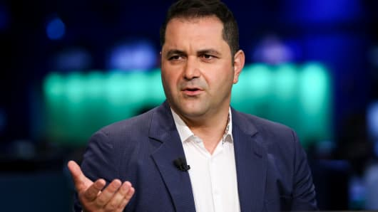 Hyperloop One co-founder Shervin Pishevar.