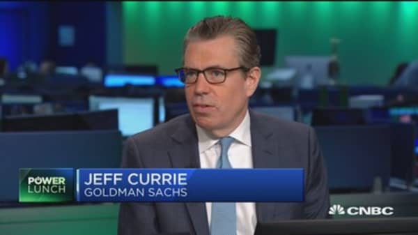 Goldman Sach's Jeff Curie: There not too much oil in this market, there's too much money