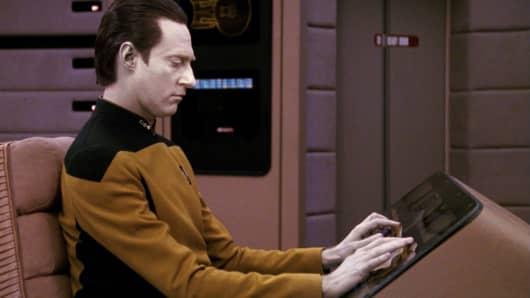 Commander Data in the STAR TREK
