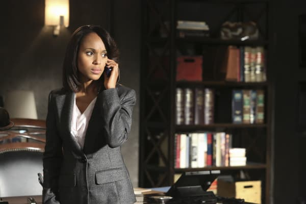 "Kerry Washington stars as Olivia Pope in the ABC drama ""Scandal"""