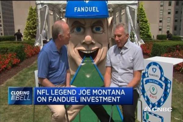 NFL legend Joe Montana discusses Fanduel's new golf gaming option