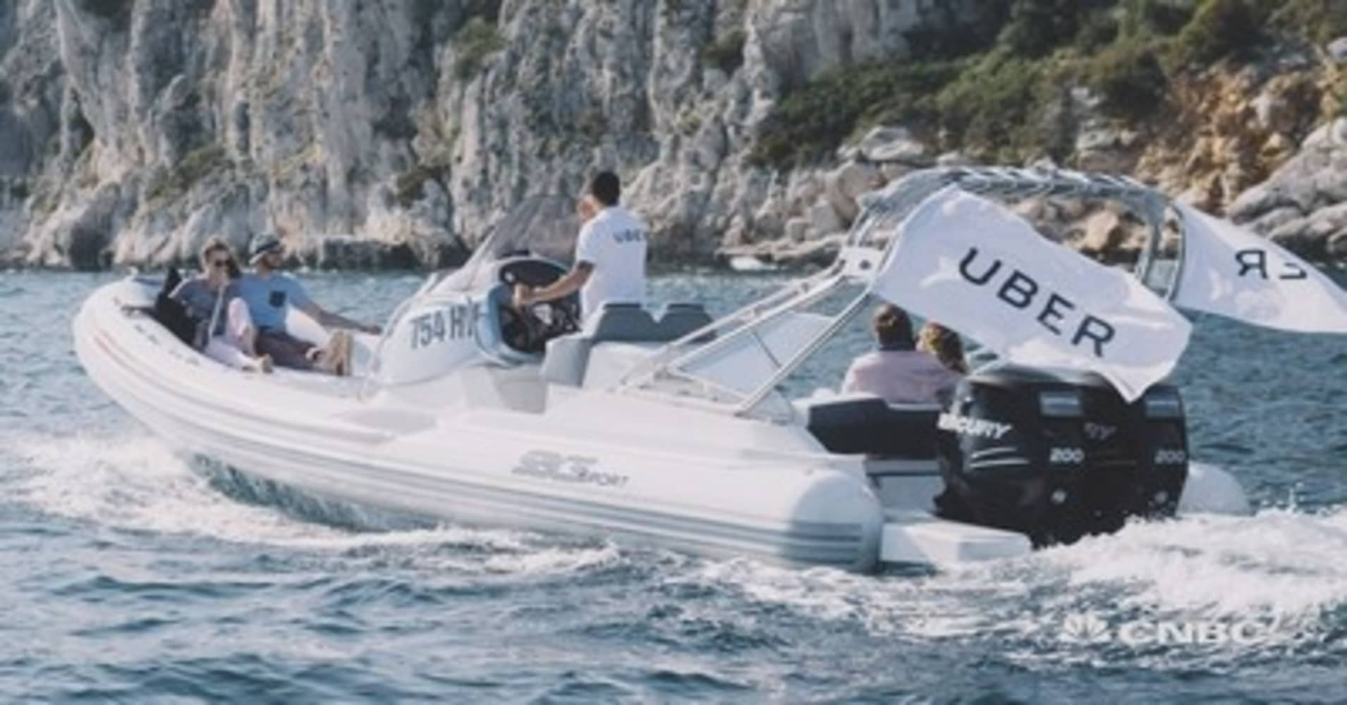 You Can Now Take An Uber Boat