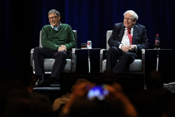 Warren Buffett and Bill Gates speak at Columbia Business School