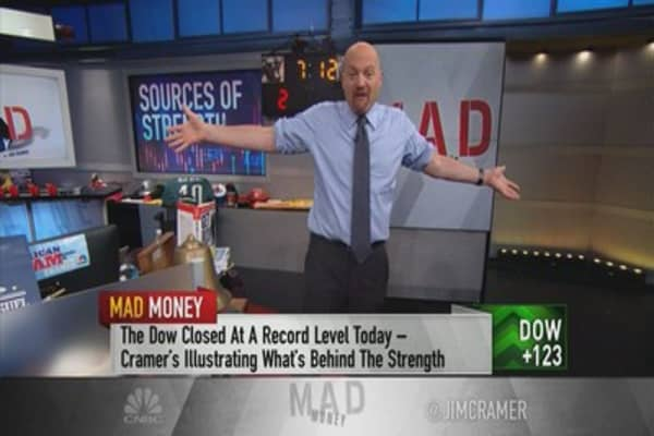 Cramer says these 10 sectors prove this rally is about fundamentals, not sentiment