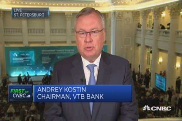 Trump trouble has nothing to do with Russia: VTB Bank Chairman