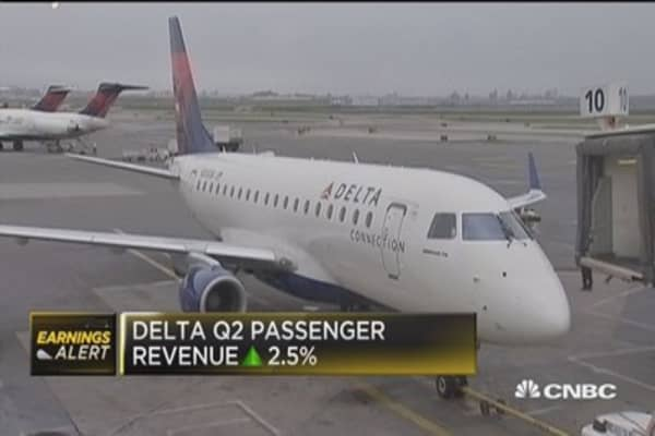 Delta reports slight earnings miss, margins increase
