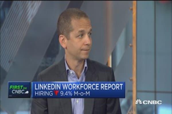 LinkedIn workforce report shows summer hiring is red hot