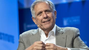 Leslie 'Les' Moonves, president and chief executive officer of CBS Corp.