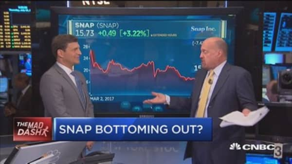 Cramer's Mad Dash: Stifel says risk to Snap 'overrated'