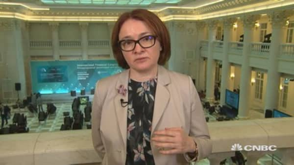 The oil market could stay quite volatile: Russia's Elvira Nabiullina
