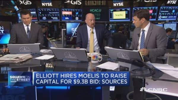 Elliott Management hires Moelis for $9.3 billion Oncor bid: Sources