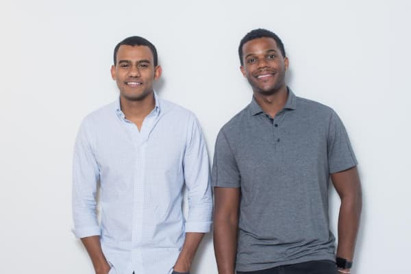 Jopwell founders Ryan Williams and Porter Braswell