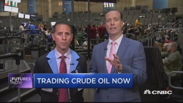 Trader says crude's issues aren't over