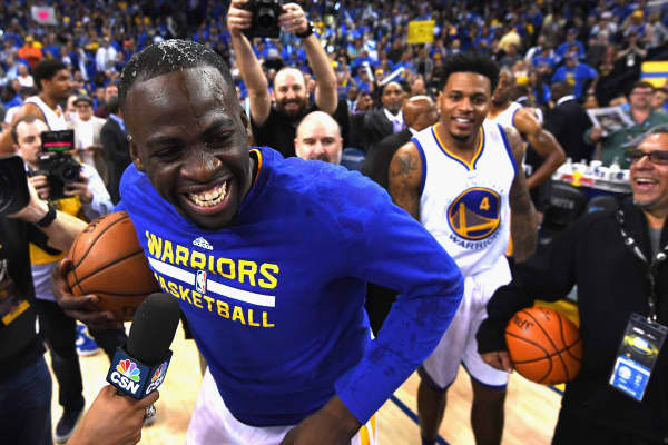 Draymond Green of the Golden State Warriors