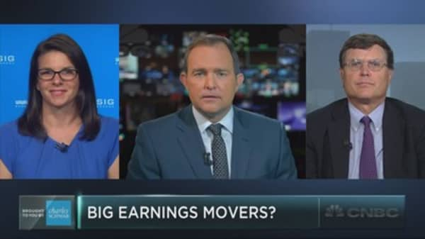 The stocks that could rock on earnings