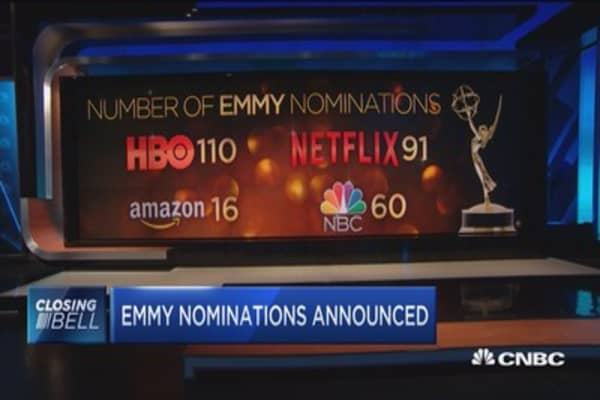 HBO, Netflix top list of most Emmy nominations