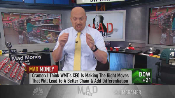 Cramer says the boosts in retail, oil and autos embolden the broader rally