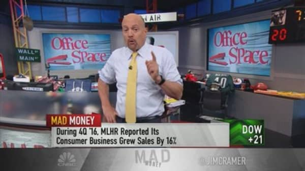 Cramer takes on the office space to see which furniture giant rises above the rest