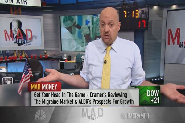 Cramer: Mea culpa! This stock's action is why I say small-cap biotechs are only for speculation