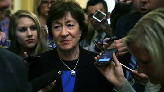 Senators threaten to block healthcare 'skinny repeal' bill — BBCI