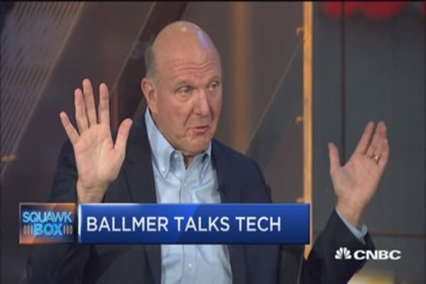 Former Microsoft CEO Steve Ballmer: Twitter is still a 'very good asset'